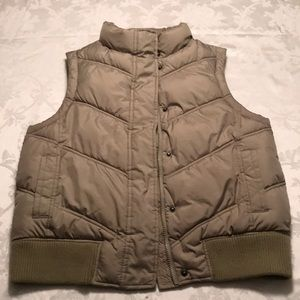 Gap puffer vest M light green